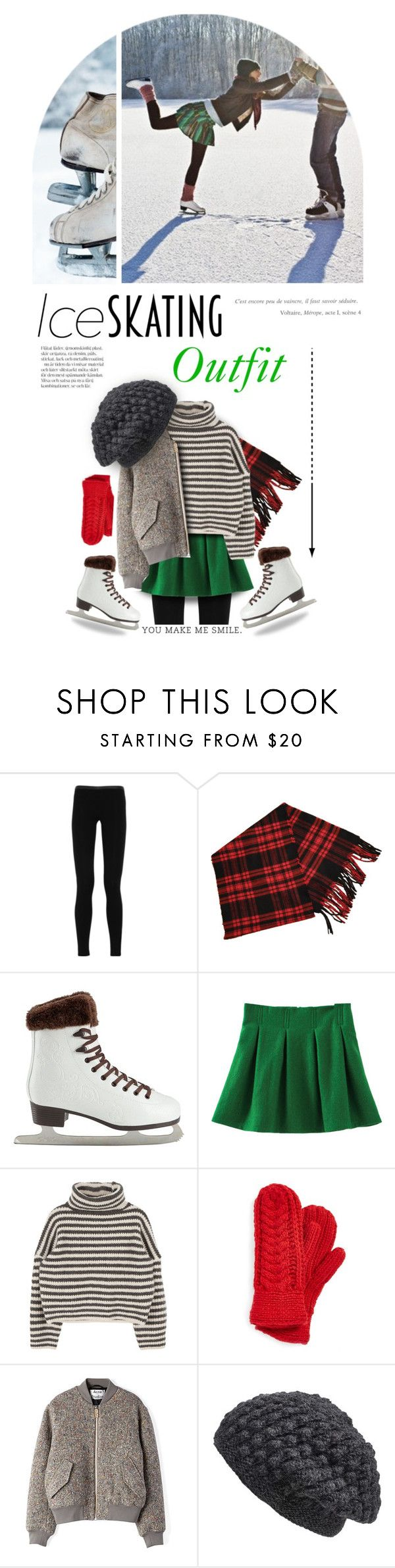 """""""Ice Skating Outfit..."""" by angiesprad ❤ liked on Polyvore featuring Emilio Pucci, Christian Dior, Nirvanna Designs and Acne Studios"""