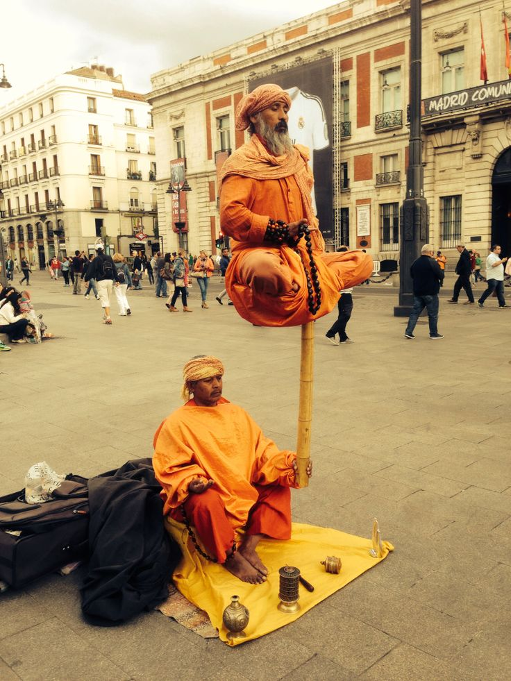 Madrid city centre! Photo by Firas Aldabbagh
