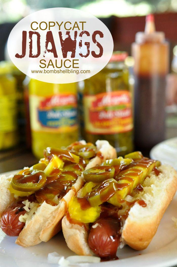 Copycat JDawgs Sauce Recipe - Best hot dogs EVER!