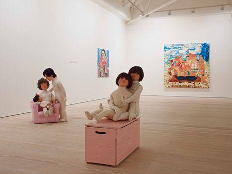 New Order: British Art Today installation view
