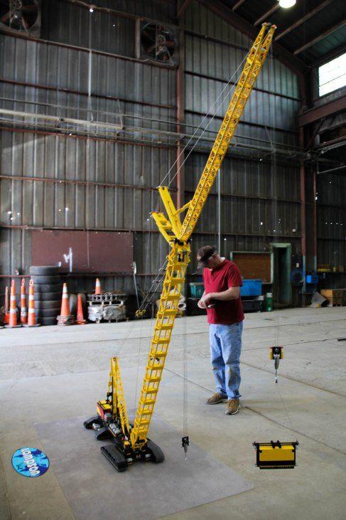 Meet Maker Don Smith of the Lego Crane