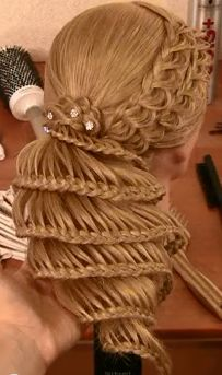 formal hair styles for 1000 ideas about spiral braid on lace braid 7233