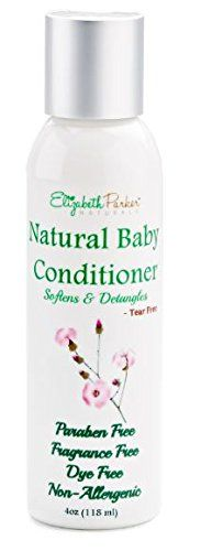 ALL NATURAL AND ORGANIC BABY CONDITIONER Promotes Tangle Free Hair and Healthy Skin Repairs Dry Damaged and Brittle hair while improving and healing the skin.  Fragrance Free -Paraben Free  - Alco...