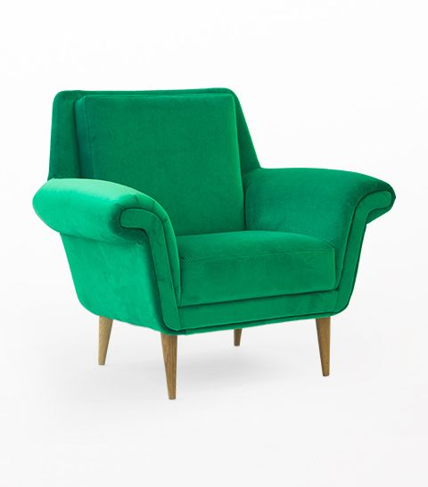 ARMCHAIR MARGO FRESH GREEN Armchair, which with one's elegance, will fill the space of your flat up. This is  a symbol of the refinement and amenities. Is it worthwhile giving it up?