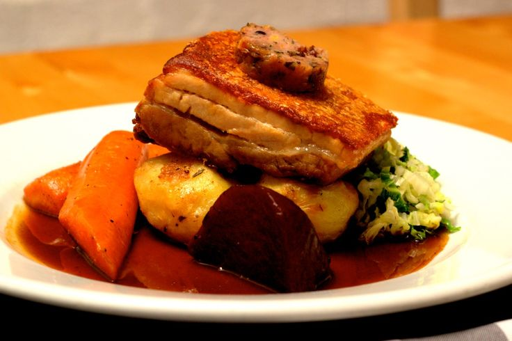 Roast Pork at Bacchus Sundays
