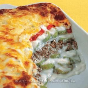 Lebanese Recipes and Middle Eastern food recipes invites you to try Zucchini Béchamel Recipe