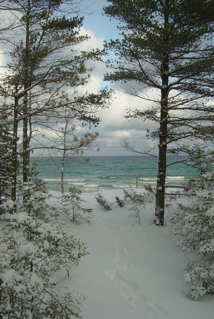 Lake Michigan at Northport, Michigan