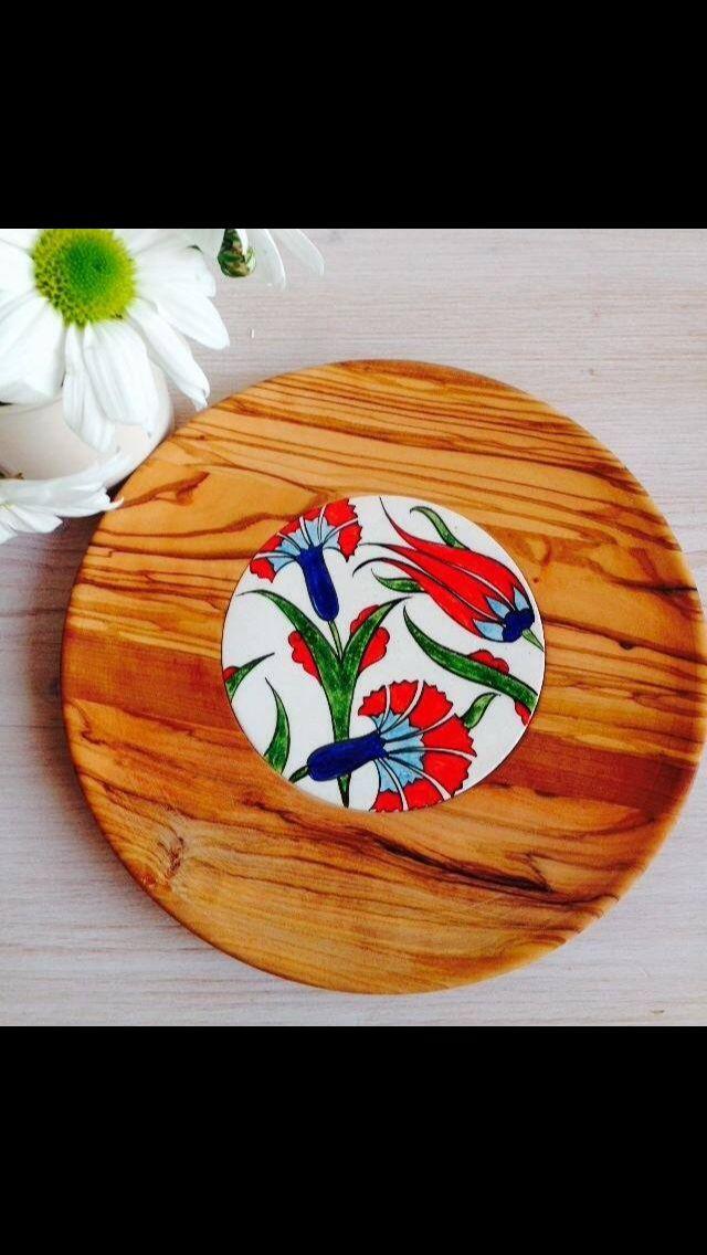 ODUN design Olive Wood & Ceramic Plate Hand Made  at ARCHİVE Galata, IKSV Shop, Adahan İstanbul, Z Mix Nişantaşı, hipicon.com  www.odundesign.com