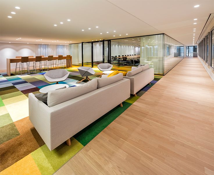 These Carpet Tiles Resemble 19th Century Paintings What Is The Creative Process Behind It Workplace DesignCorporate InteriorsWaiting