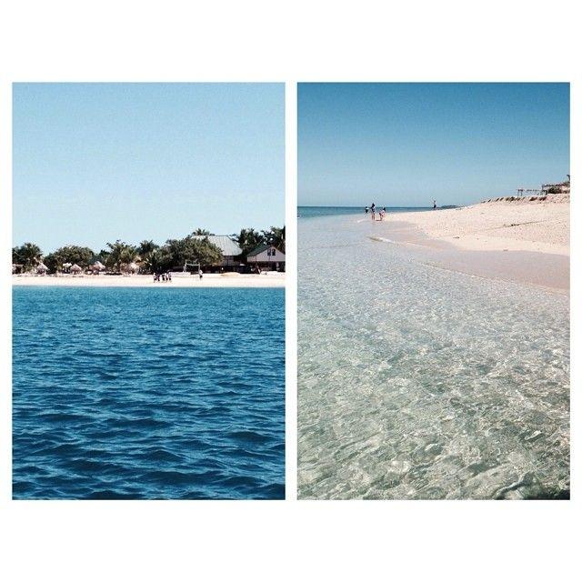 Island trip  #nofilterneeded #clearwater #holiday #relax #southseaisland #daytrip #fiji #cantbelieveitswinterhere