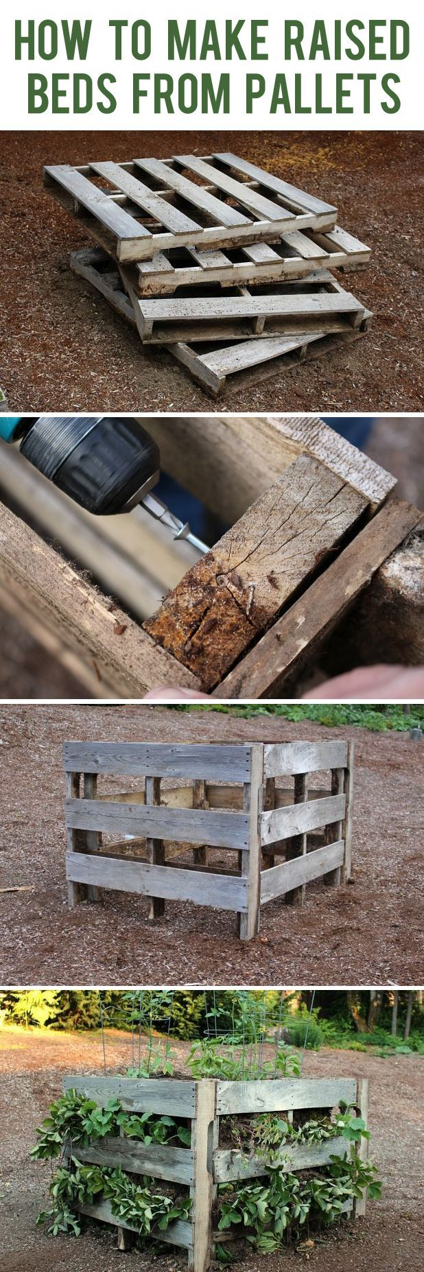 17 Best ideas about Cheap Raised Garden Beds on Pinterest Diy