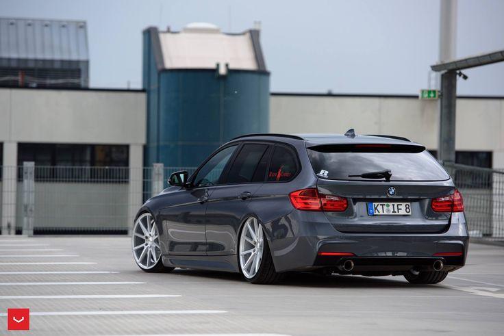BMW 335i Touring xDrive on Vossen Wheels