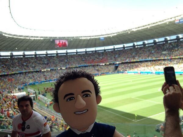 #HollandvsMexico #Poupluche #Valbuena on y était!!! - @agolfetto - 29 juin 2014