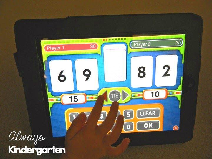ipad apps for kindergarten
