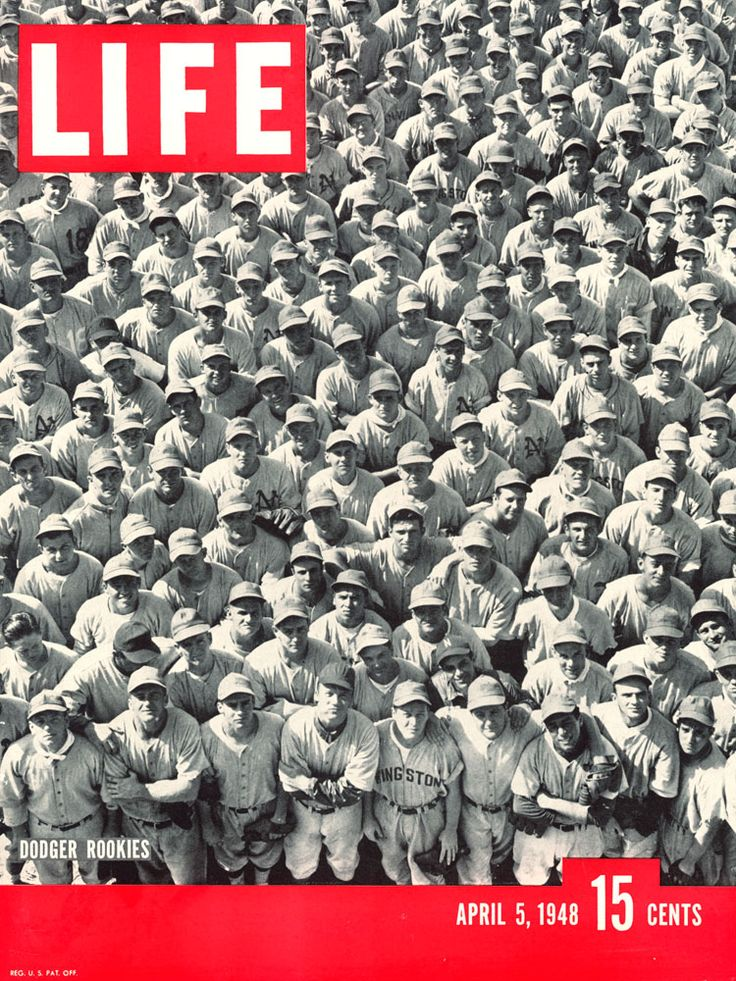 LIFE magazine cover, April 5th, 1948.