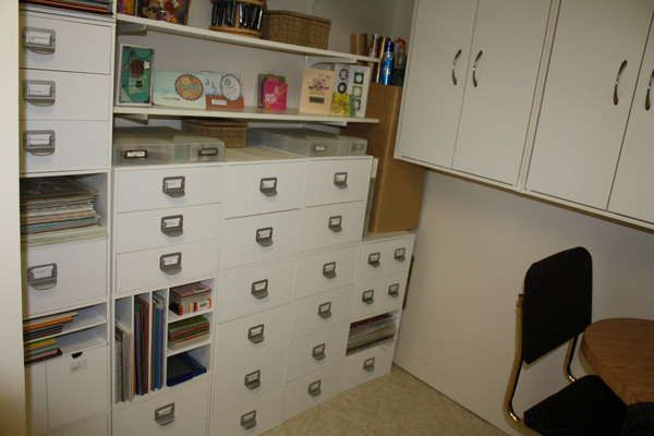 Craft Room Storage Solutions: 663 Best Images About Craft Rooms / Art Studios On