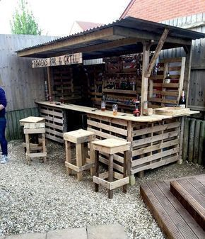 Shed DIY – Gorgeous Low cost Pallet Bar DIY Ideas …