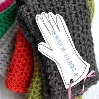 DIY crochet warm hands