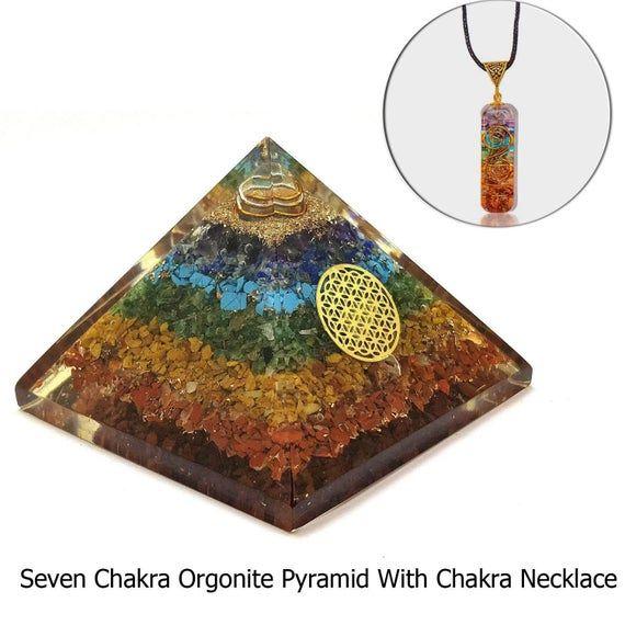Orgonite Pyramids Orgone Pyramid Orgonite Pyramid Emf Etsy In 2020 Orgonite Pyramids Orgonite Energy Healing Stones