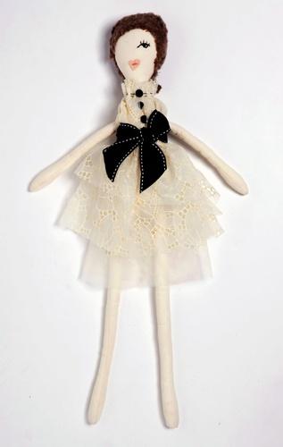 laLovie Dolls, looks like she is wearing Chanel