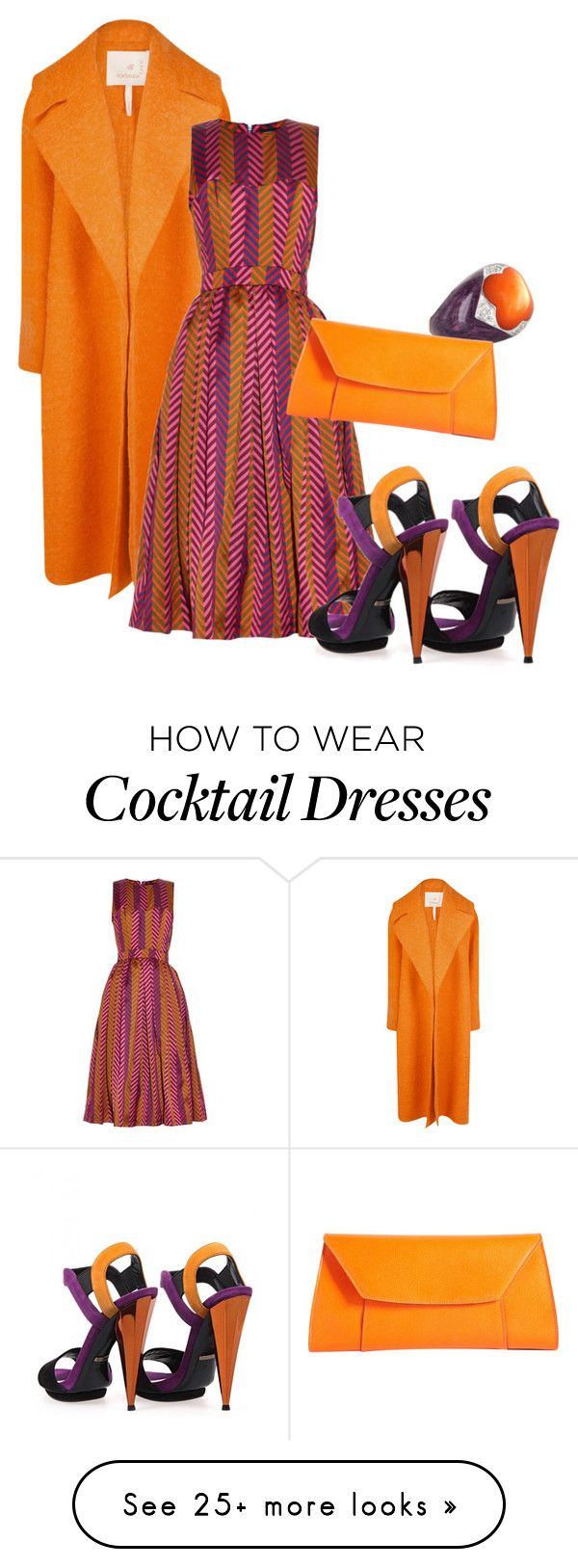"""""""#127"""" by luvv121 on Polyvore featuring Roksanda, House of Holland, Valextra and Gucci"""
