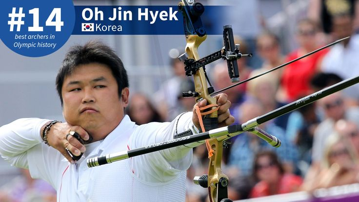 Best #Olympic Archers of All-Time: #14 Oh Jin Hyek