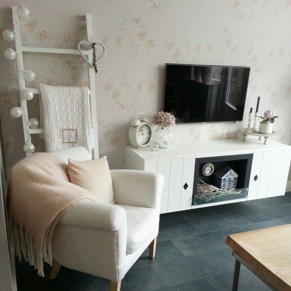 25+ beste ideeën over Roze woonkamers op Pinterest - Roze muur ...