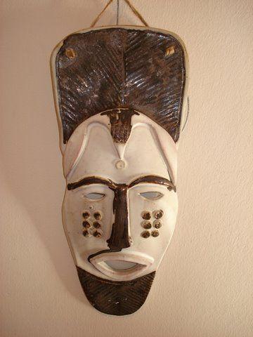 Elsabé PRETORIUS - Ceramic mask