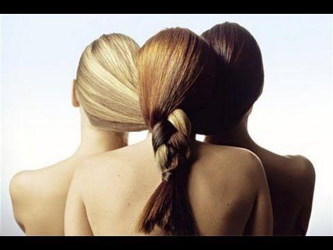 Безопасное осветление волос (маска-смывка) - YouTube