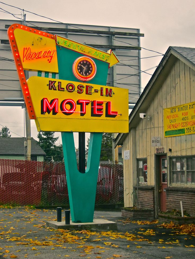 Klose In Motel, Aurora Avenue North, Seattle