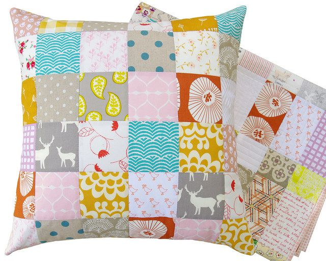 70 best Patchwork Pillows images on Pinterest | Cushions ... : quilts and pillows - Adamdwight.com