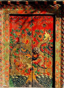Asian Door