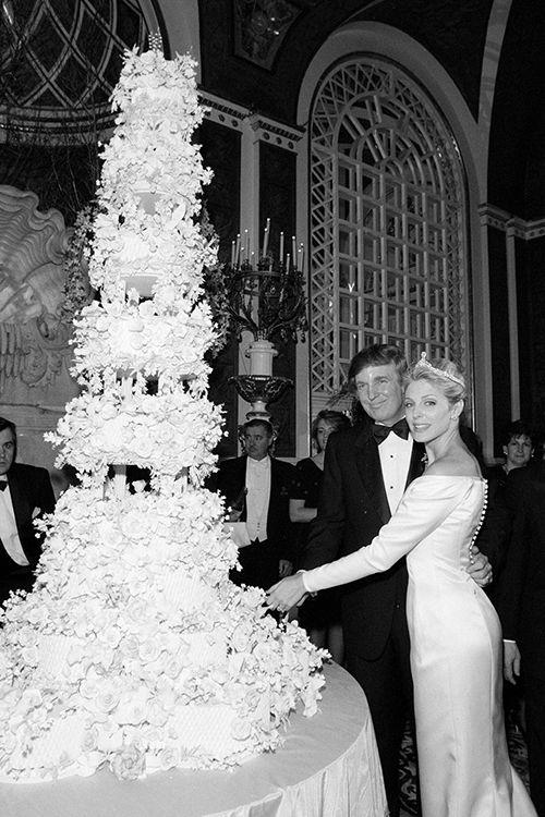 Donald Trump Wedding Pictures Ivana Trump Marla Maples