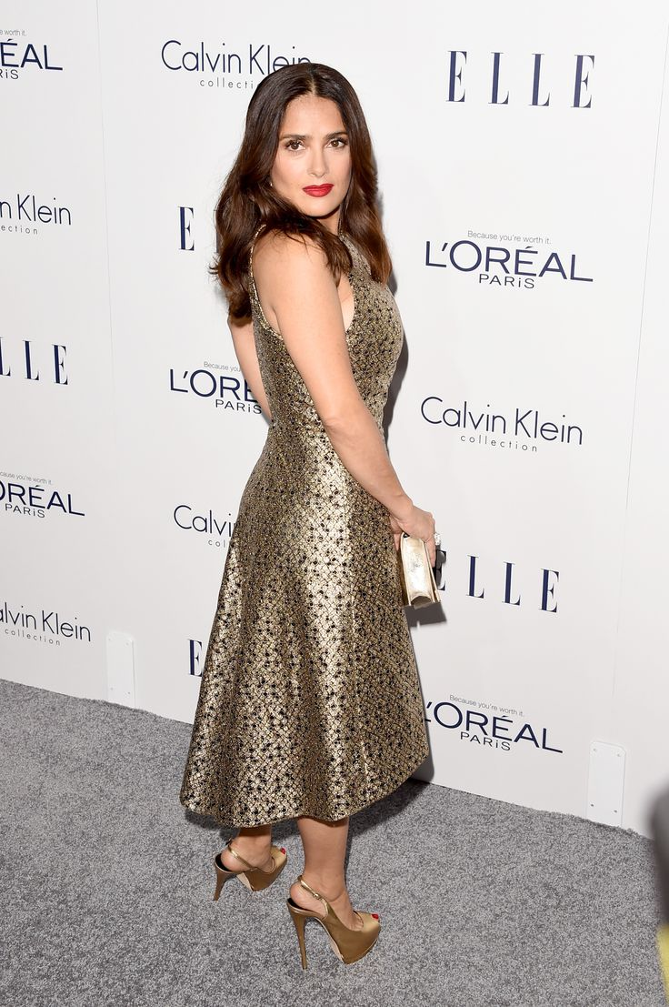 Salma Hayek attends the 22nd Annual ELLE Women in Hollywood Awards at Four Seasons Hotel Los Angeles at Beverly Hills on October 19, 2015 in Los Angeles, California.