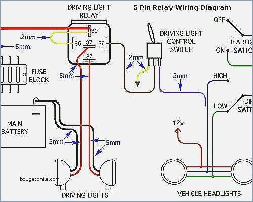 Relay 5 Pin Wiring Diagram – knitknot.info | Electronics ... on