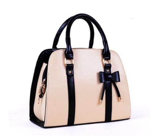 DAYISS Womens Bowknot Shoulder Bag Satchel Purse Messenger Handbag Tote Wallet Korean (Beige) DAYISS To purchase just click on Amazon right here http://www.amazon.com/dp/B00J1VU8B0/ref=cm_sw_r_pi_dp_oFGPtb1X4E0DMGRH