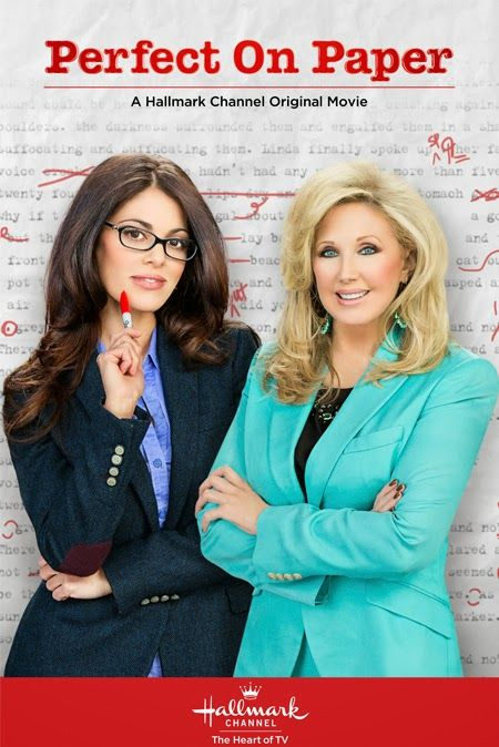 "Its a Wonderful Movie - Your Guide to Family Movies on TV: Hallmark Channel Movie ""Perfect on Paper"" starring Lindsay Hartley and Morgan Fai..."