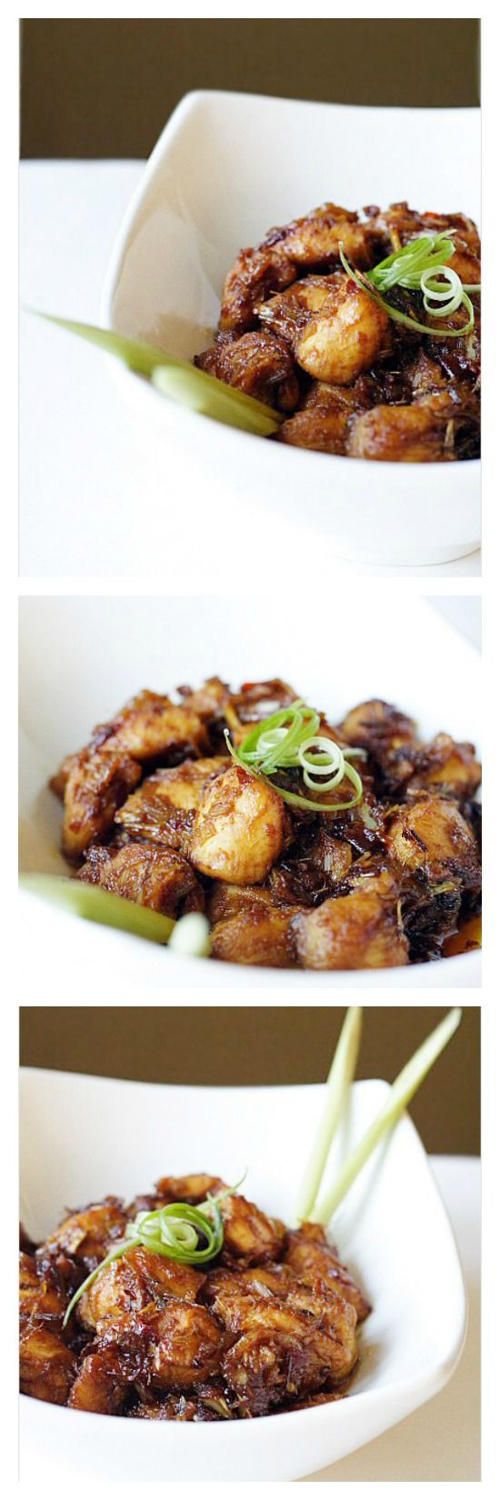 Lemongrass Chicken Recipe. Simply the most aromatic and delicious Asian chicken dish ever. So easy to make and no-fuss | http://rasamalaysia.com