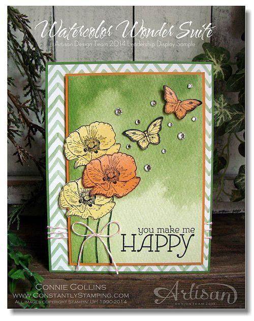Watercolor Wonder Suite with Happy Watercolor stamp set.