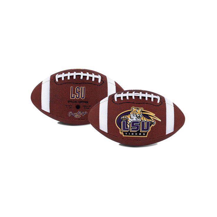 Rawlings LSU Tigers Game Time Football, Purple