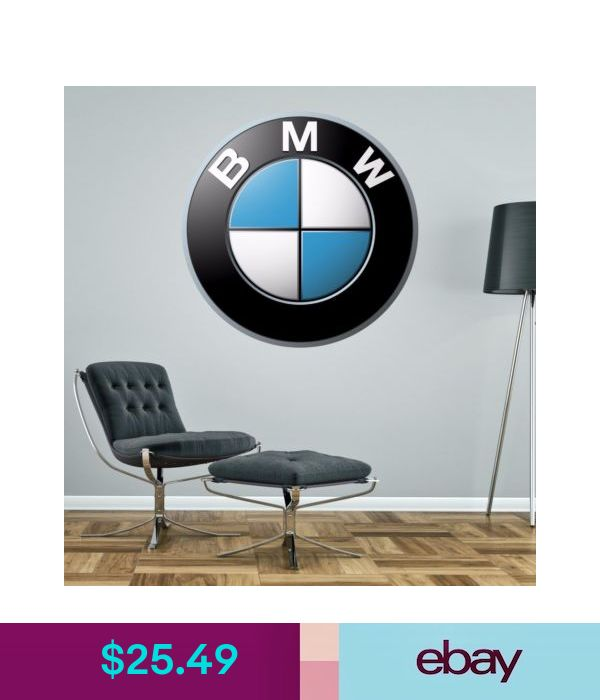 decals stickers vinyl art bmw badge wall decal decor on wall logo decal id=77942