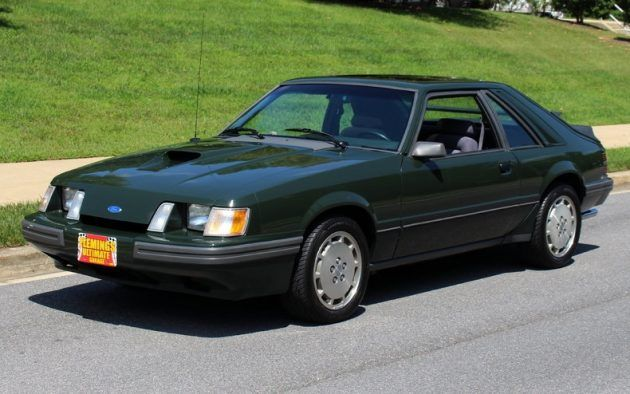 Rent-A-Racer: 1985 Ford Mustang SVO #Survivors #Ford - https://barnfinds.com/rent-racer-1985-ford-mustang-svo/