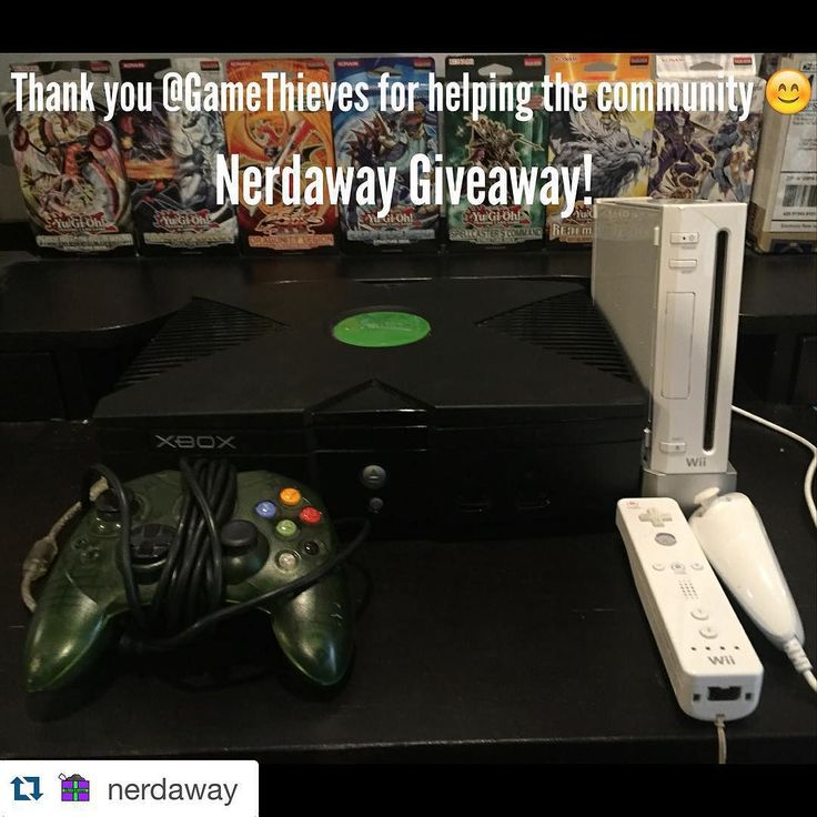 On instagram by gamethieves #retrogaming #microhobbit (o) http://ift.tt/1Obe4zw much #love with this #giveaway we get tagged read the caption and we are at loss for words.. Appreciate the love man with this one! If you haven't go follow the homie! Let's get this giveaways started!!   Contact info right below #dm seller #asap    #Repost @nerdaway  Xbox or Wii Giveaway!  Thank you @gamethieves for helping this community!   1 lucky winner can choose either the Xbox or the Wii! (Comes with 1…
