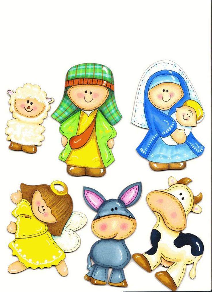navideños, diversidad de dibujos para el arbol