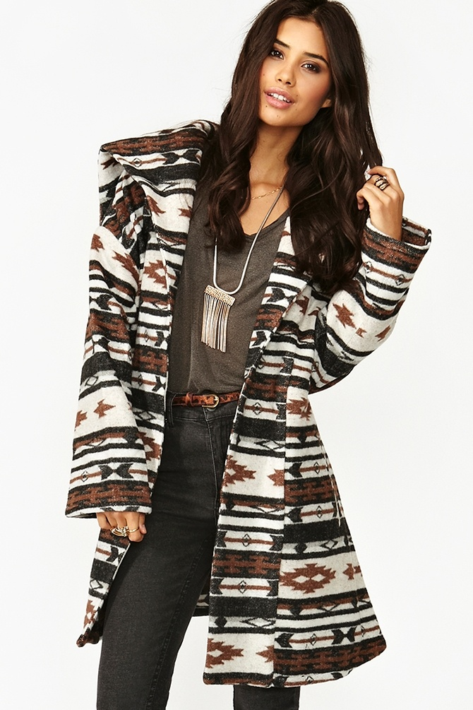 Cheyenne Blanket Coat . i don't care if it's going out of style or not, it's so cute!