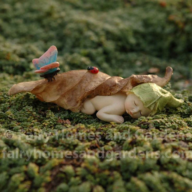 Fairy Homes and Gardens - Fairy Baby with Butterfly, $9.99 (http://www.fairyhomesandgardens.com/fairy-baby-with-butterfly/)