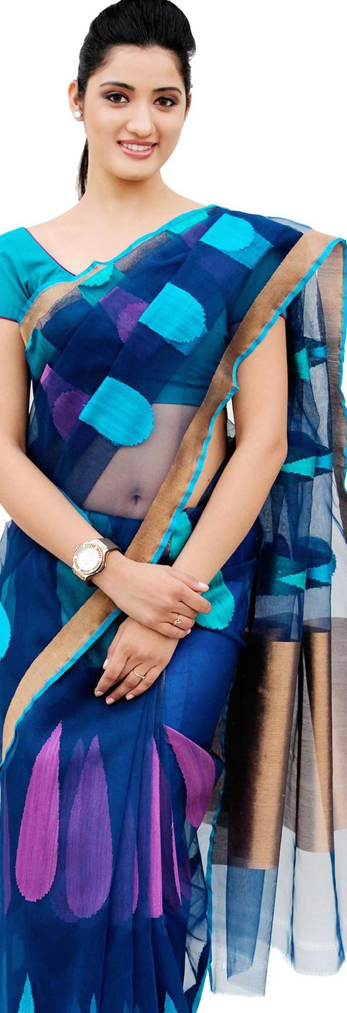 Pure handloom Saree - very great colors and design - will work well for modern Indian women