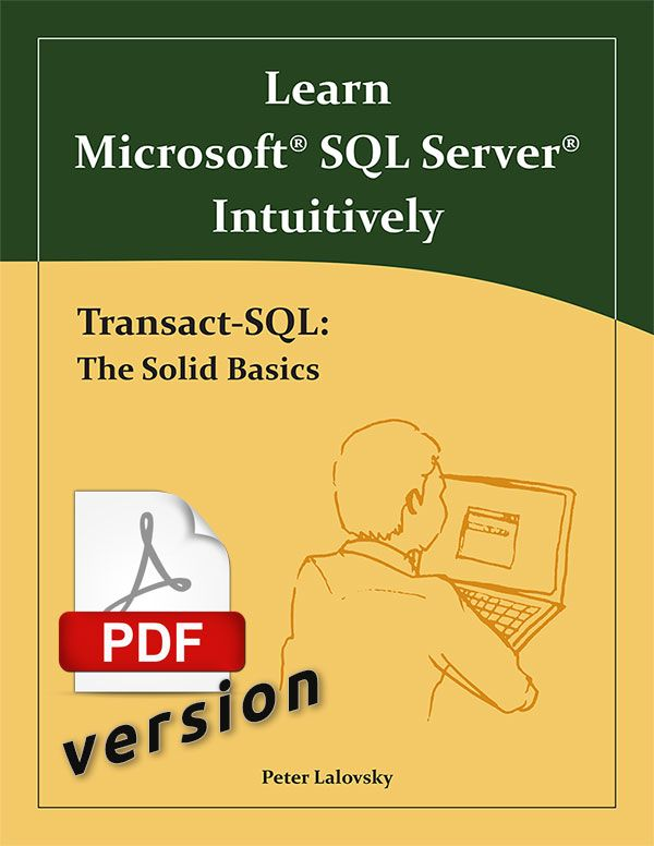 Transact Sql The Solid Basics Pdf With Images Transact Sql