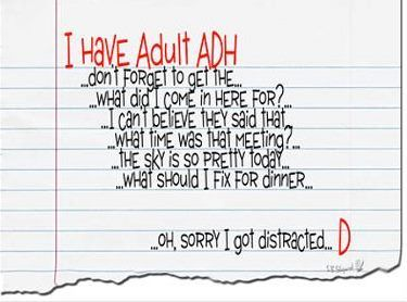 Adult attention deficit disorder funny video