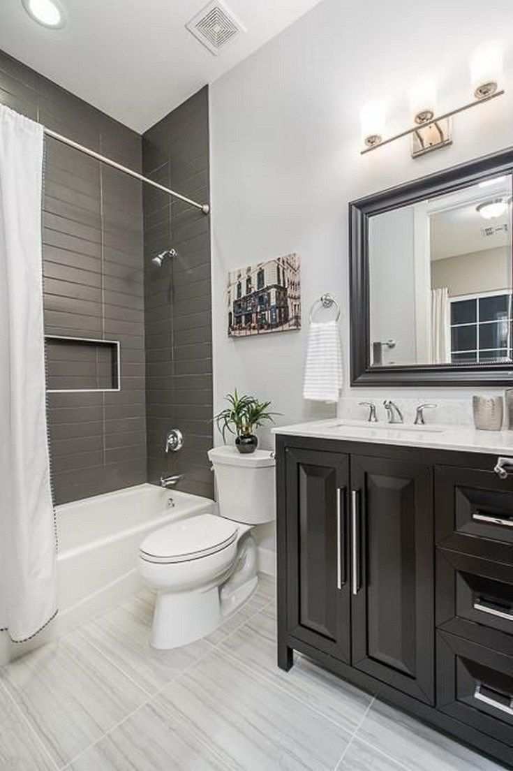 32 Best Small Bathroom Design Ideas And Decorations For 2020: 83 Inspirational Small Bathroom Remodel Before And After